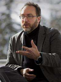 AP Interview: Wikipedia founder hails role in US (AP)