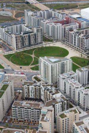 A polluted, industrial site has been regenerated and transformed into the Olympic Park