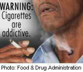 Appeals court backs FDA move for graphic images on cigarette packs