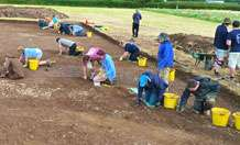 Archaeological dig in Devon unearths Roman influence