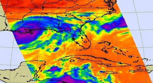 A Slow-moving Isaac Brings Flooding to Gulf States