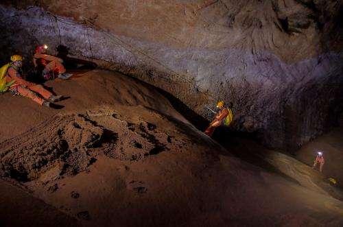 Astronauts going underground
