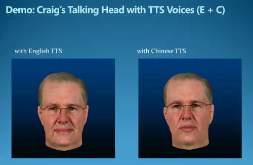 Bilingual avatar speaks Mundie language