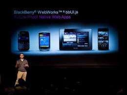 BlackBerry outage in Europe, Mideast, Africa