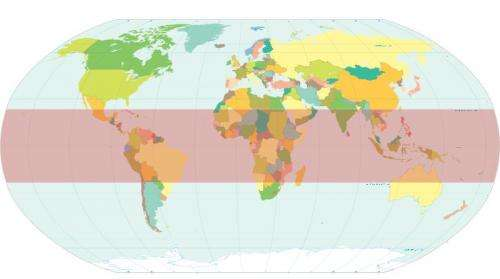 Black carbon, tropospheric ozone most likely driving Earth's tropical belt expansion
