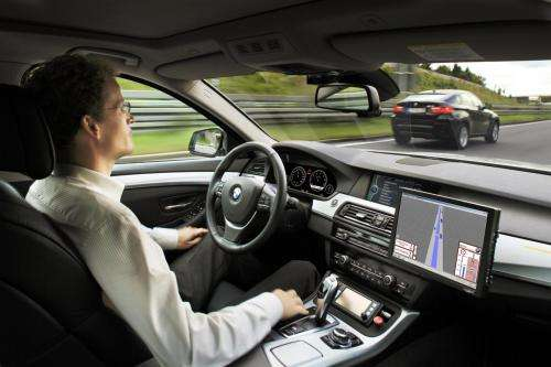 BMW shows hands-free driving on Autobahn (w/ video)