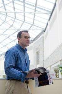 Boston College names Thomas Chiles the Deluca Professor of Biology