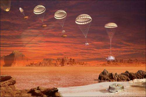 Bouncing on Titan