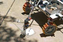 Caltech Rover ready for rock-yard competition in Houston