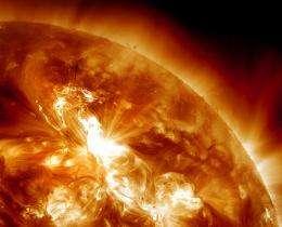 Can solar flares hurt astronauts?