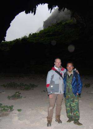 Cave dwelling nettle discovered in China