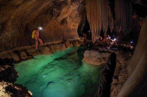 Cavenauts return to Earth