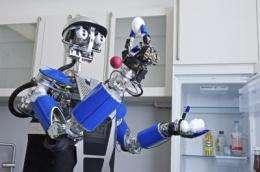 CeBIT: Robot obeys commands and gestures