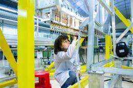 CERN: Using 2,000 vacuum-resistant straws to probe new physics