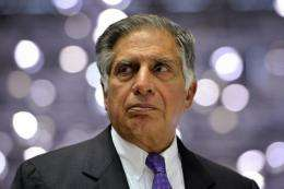Chairman of India's Tata Motors, Ratan Tata