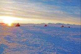 Checking CryoSat reveals rising Antarctic blue ice