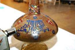 Chemistry sheds light on Mamluk lamps