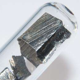 Clean energy could lead to scarce materials
