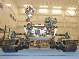 Curiosity rover will serve as terramechanics instrument in explortation of Martian soils