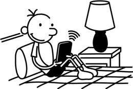 Dear Digital Diary: 'Wimpy Kid' e-books coming