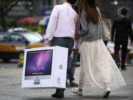 "Demand for Apple gadgets is ""mind-boggling"" in China"