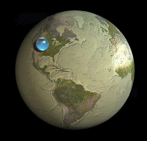 Earth has less water than you think