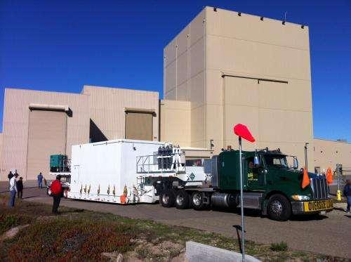 Eighth Landsat satellite arrives at launch site