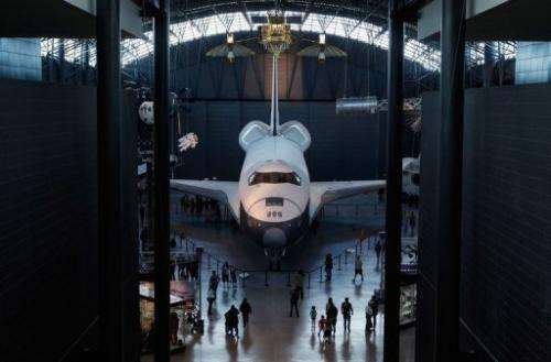 Enterprise, a prototype shuttle that never flew in space
