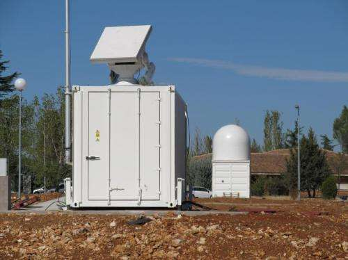 ESA deploys first orbital debris test radar in Spain