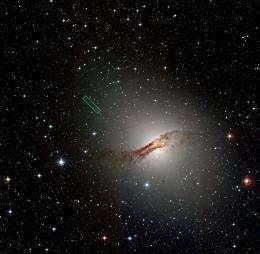 Do black holes help stars form?