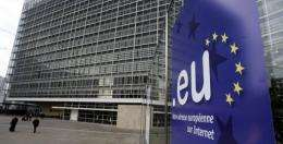EU headquarters are picturedin Brussels in 2005
