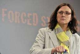 EU home affairs commissioner Cecilia Malmstroem