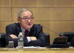 European Space Agency (ESA) head Jean-Jacques Dordain