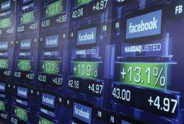 Facebook slides as underwriters give mixed ratings