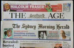 Fairfax sent shockwaves through the media sector Monday by announcing it would sack 1,900 staff