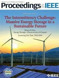 Finding solutions to Achilles' heel of renewable energy: intermittency