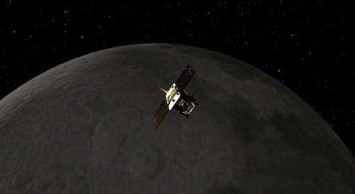 First of NASA's GRAIL spacecraft enters Moon orbit