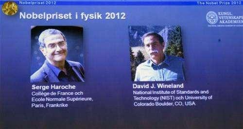 Frenchman, American win Nobel for quantum physics