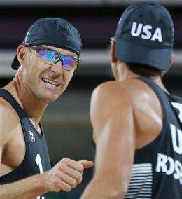 From cancer to Olympics, twice, for US beach star
