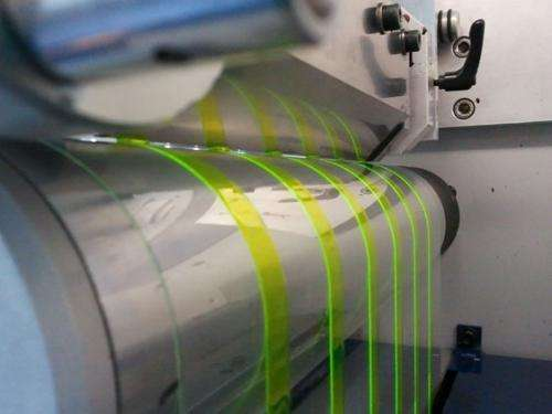 Future light component produced in printing press