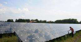 Germany's solar energy industry is facing problems due to a cut in government subsidies and foreign competition