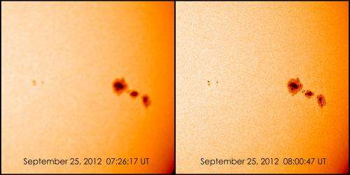 Getting Solar Dynamic Observatory into focus