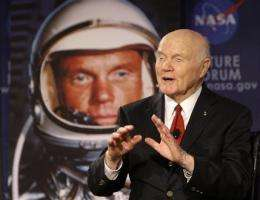 Glenn marks 50 years since historic orbit of Earth (AP)