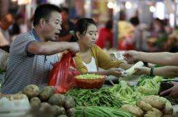 Global food prices remain below their February 2011 peak