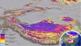 Global permafrost zones in high-resolution images on Google Earth