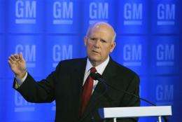 GM CEO says old culture still hinders change