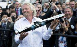 """Going into space is a hard business. It keeps my mind buzzing,"" Branson said"