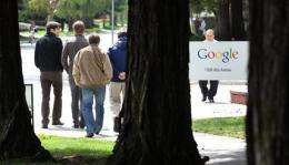 Google to split stock to keep power with founders (AP)