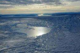 Greenland may be slip-sliding away due to surface lake melt: study