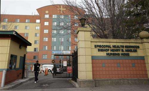 Grim limbo for storm's nursing home evacuees in NY